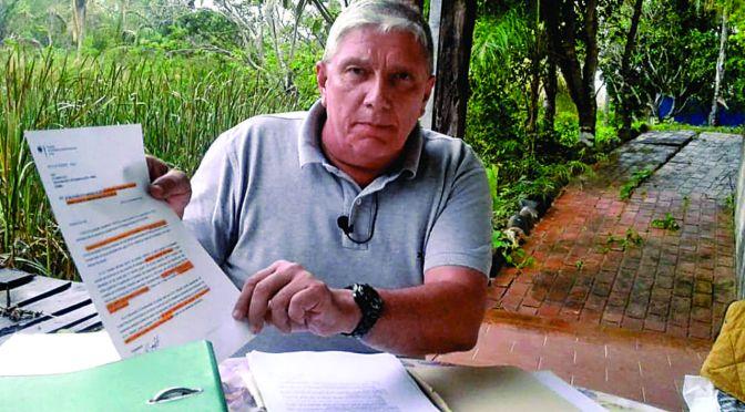 Dirk Schmidt pide revisar su situación jurídica y levantar el arraigo en su contra