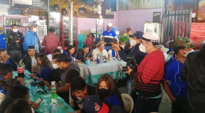 Gremialistas de Tarija continúan las protestas y piden la renuncia de Pantoja