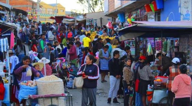 La economía informal creció en Tarija por la pandemia aseguro un economista