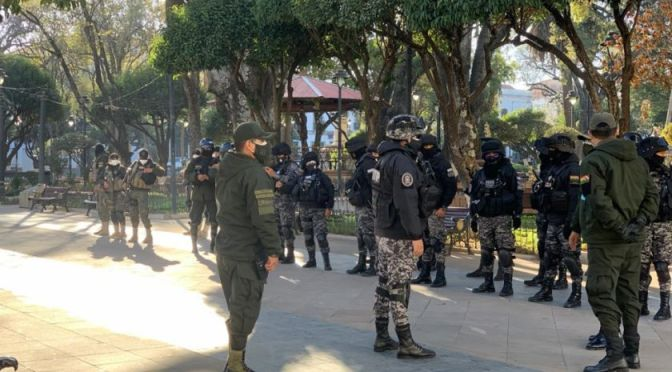 El coronavirus se cobra la vida de un tercer policía en Chuquisaca