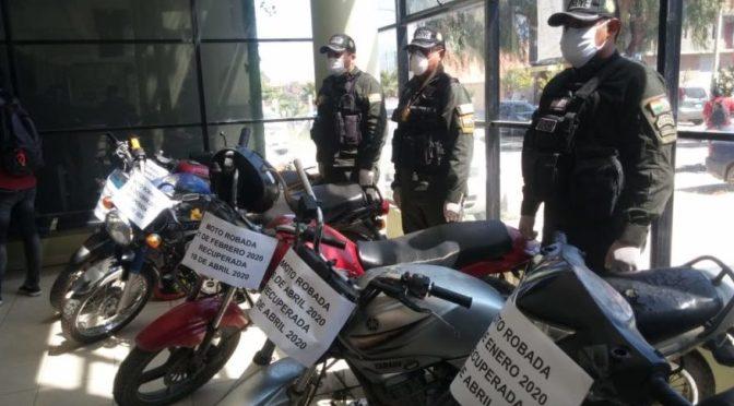 Caen dos ladrones de motos, tenían 10 motos en su poder