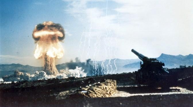 El único ensayo de un cañón nuclear en la historia, video restaurado en 4K y a 48 imágenes por segundo