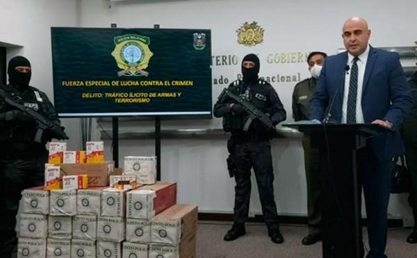 Militante del MAS es propietario de las 126 mil balas secuestradas por la policía en Cochabamba