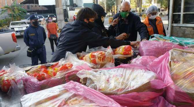Decomisan 240 kilos de pollo argentino en la ciudad de Tarija