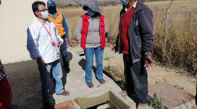 Defensoría del Pueblo verifica desabastecimiento de agua en San Lorenzo y pide dotación en cisternas