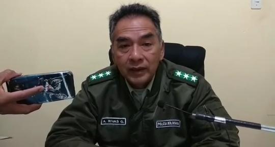 Destituyen a Anibal Rivas como comandante de la Policía de Bermejo