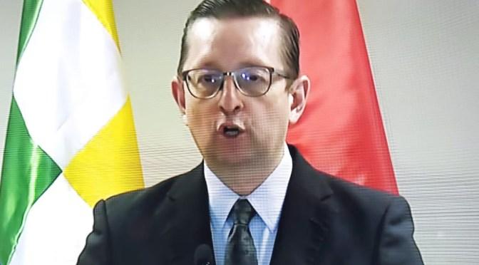 Urgente: Oscar Ortiz dice que no renunció cómo ministro pero que ya designaron a su sucesor