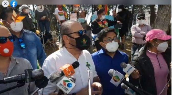 Calvo presentó cinco denuncias contra el fiscal Lachipa en Sucre