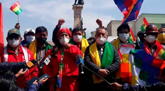 Santos Ramírez se alía con PAN-BOL de cara a las elecciones de octubre