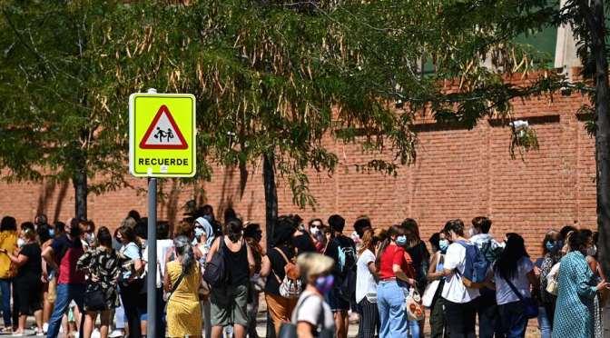 España reporta en 24 horas más de 12.000 casos de coronavirus
