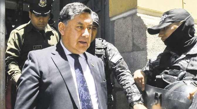 El fiscal general optó por el encierro y evita referirse a los procesos contra Evo