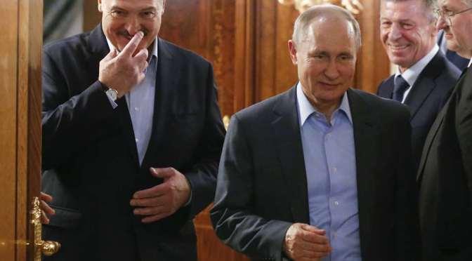Putin está «convencido» de que Lukashenko superará la crisis en Bielorrusia