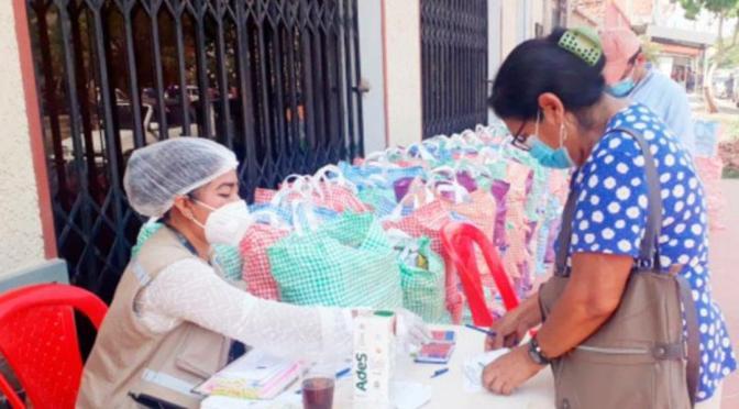 La próxima semana concluye entrega de la canasta del Adulto Mayor en Yacuiba