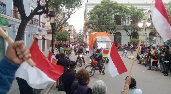 Cívicos llaman a la tranquilidad a la población Tarijeña y esperarán resultados oficiales