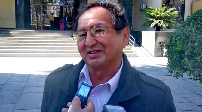 García: Bienes de Condori están anotados preventivamente