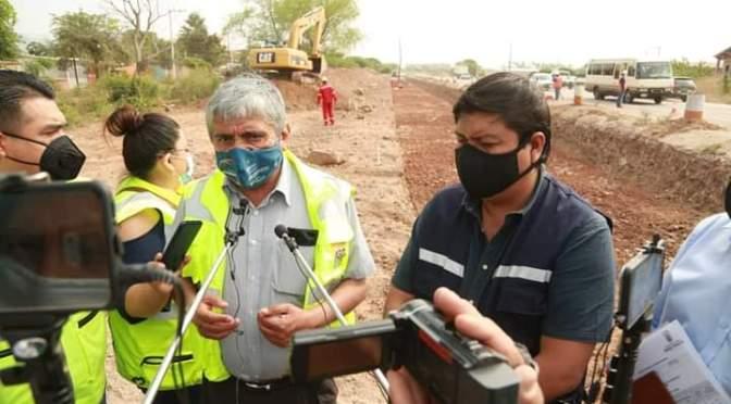 Ministro Arias anuncia reactivar proyecto doble vía Yacuiba-Villa Montes