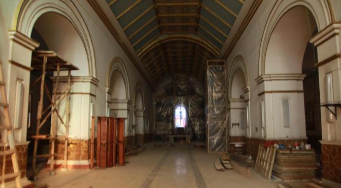 La refacción de la Catedral tiene 85% de avance y será entregado el 30 de noviembre