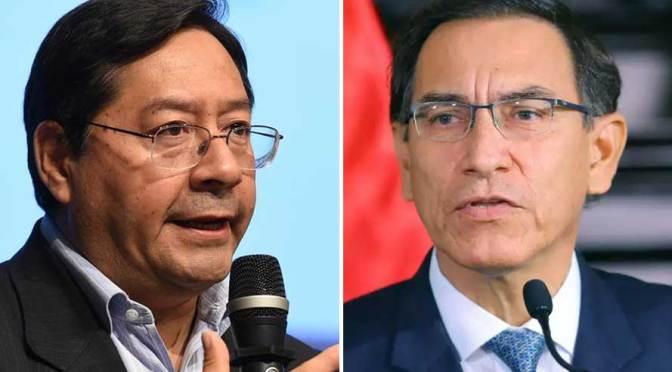 Medio peruano: Citan a Luis Arce para atestiguar en investigación contra presidente Vizcarra