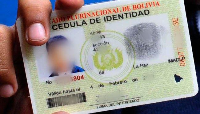 Segip atenderá hoy trámites de cédula de identidad