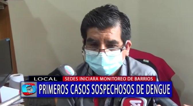 Se reportan los primeros casos sospechosos de dengue en Tarija