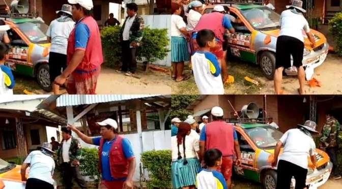 Atacan casa de campaña del MAS en la Villa y agreden a candidata a diputada uninominal de CC en Yapacaní