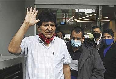 Fiscalía solicitó el levantamiento de la alerta migratoria contra Evo Morales
