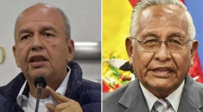 Áñez restituye en sus cargos a Cárdenas y Murillo