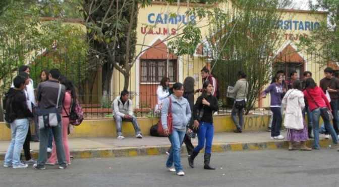 La UAJMS garantiza conclusión de la gestión académica pese a la crisis económica