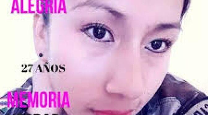 Existirían más implicados en el feminicidio de la sargento Alegría, denuncian negligencia de ex fiscal
