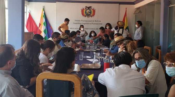 Brigada Parlamentaria busca aprobar agenda legislativa para éste año