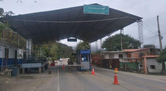 Aduana se pronuncia tras los hechos violentos en La Mamora