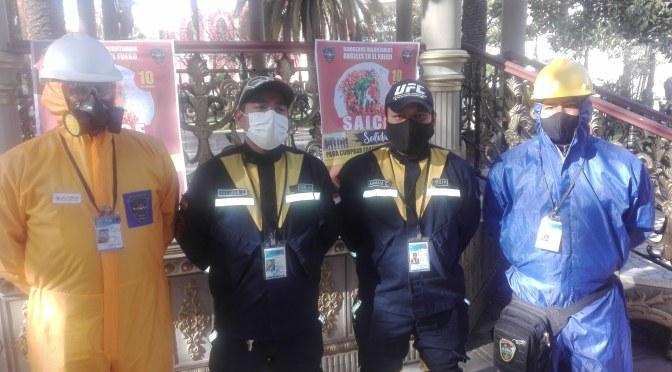 Bomberos Ángeles en el Fuego realizan rifa solidaria denominada «por la sonrisa de los niños»