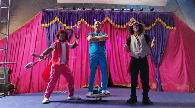 El circo agradece la solidaridad de la población tarijeña y abre sus puertas