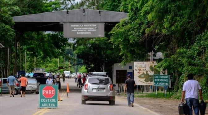 Bermejo reclama habilitación de la frontera con Argentina