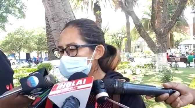 Madre de tres hijos pide ayuda a la población, su esposo está enfermo y no trabaja hace dos años