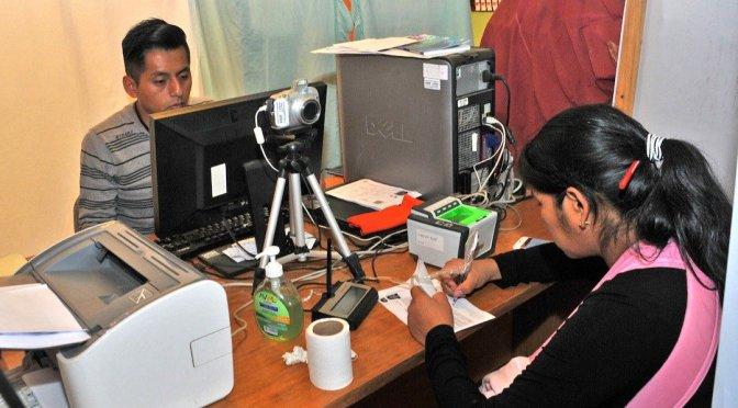 En 6 días de empadronamiento biométrico se observa bajo interés de los ciudadanos