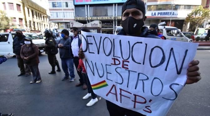 Piden al gobierno que no se politice la devolución de los aportes a la AFP