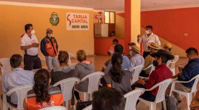 Pica Lema y Subcentrales Campesinas de Cercado se reunirán cada jueves