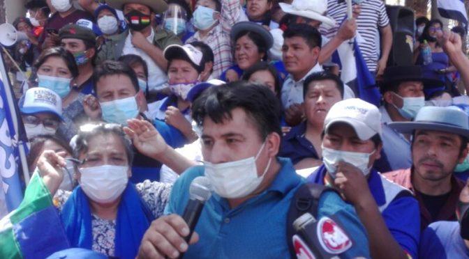 Denuncian que Acosta falsificó firmas de otros dirigentes del MAS para respaldar candidaturas