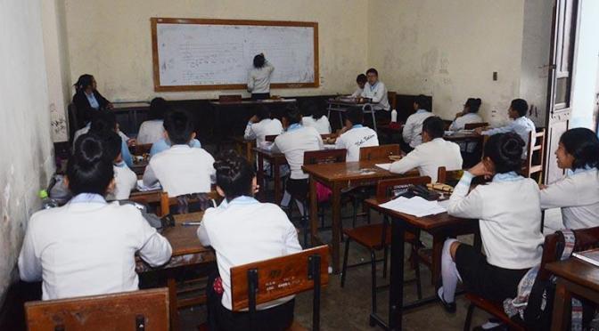 Irahola: Si no hay las condiciones las clases no empezarán el 1 de febrero