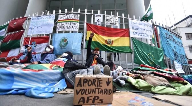 AFP: Advierten con retomar medidas porque no se convoca a mesas de concertación