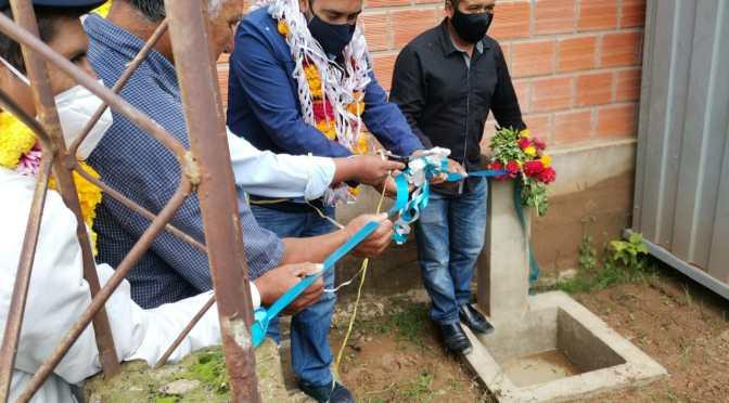 Tras cinco años de servicio irregular Campo de Vasco al fin tiene agua potable