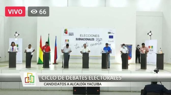 Yacuiba: secretarios municipales niegan apoyo a candidatos y critican propuestas electorales