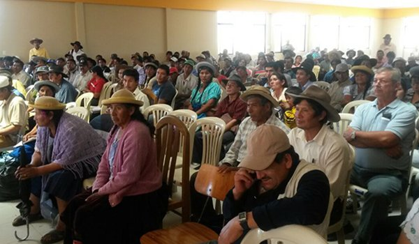 Campesinos denuncian que no se pagó el Prosol ni se cumplieron los plazos