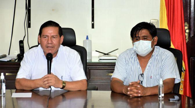 Acalde Vallejos confirma que se reunió en su despacho con el candidato Oscar Montes