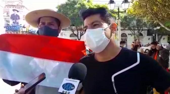 Artistas se movilizan y exigen a la Gobernación el pago por servicios prestados