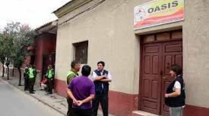 Un adolescente de 17 años fue detenido en el hogar Oasis, estaba armado