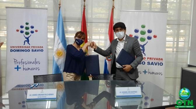 Firman Convenio de Cooperación y Coordinación Interinstitucional entre la OTN-PB y la UPDS