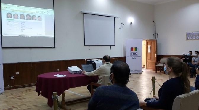 Órgano electoral sortea jurados para la segunda vuelta en Tarija