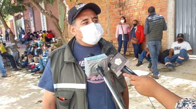 Más de 200 trabajadores del Sedeca tomaron oficinas de la Gobernación
